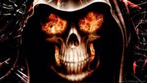 Skull wallpapers hd-fire-skull-wallpapers