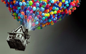 Abstract HD Wallpapers-balloon house