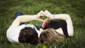 Romantic-Couple-Love-Romance-In-Garden-Love And Romantic Wallpapers