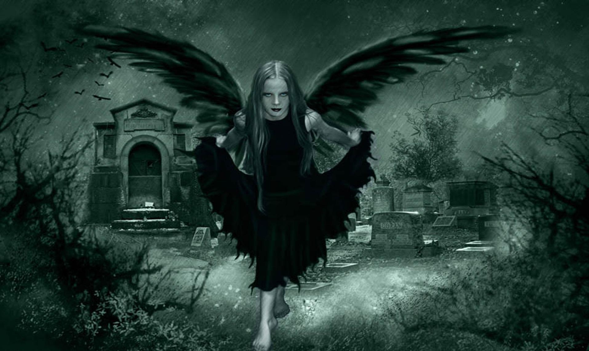 Dark Fairy Gothic Wallpapers Free Goth