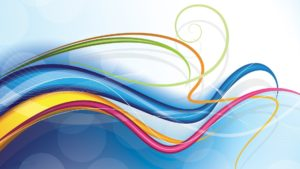 lines-patterns-colorful-waves-background design hd