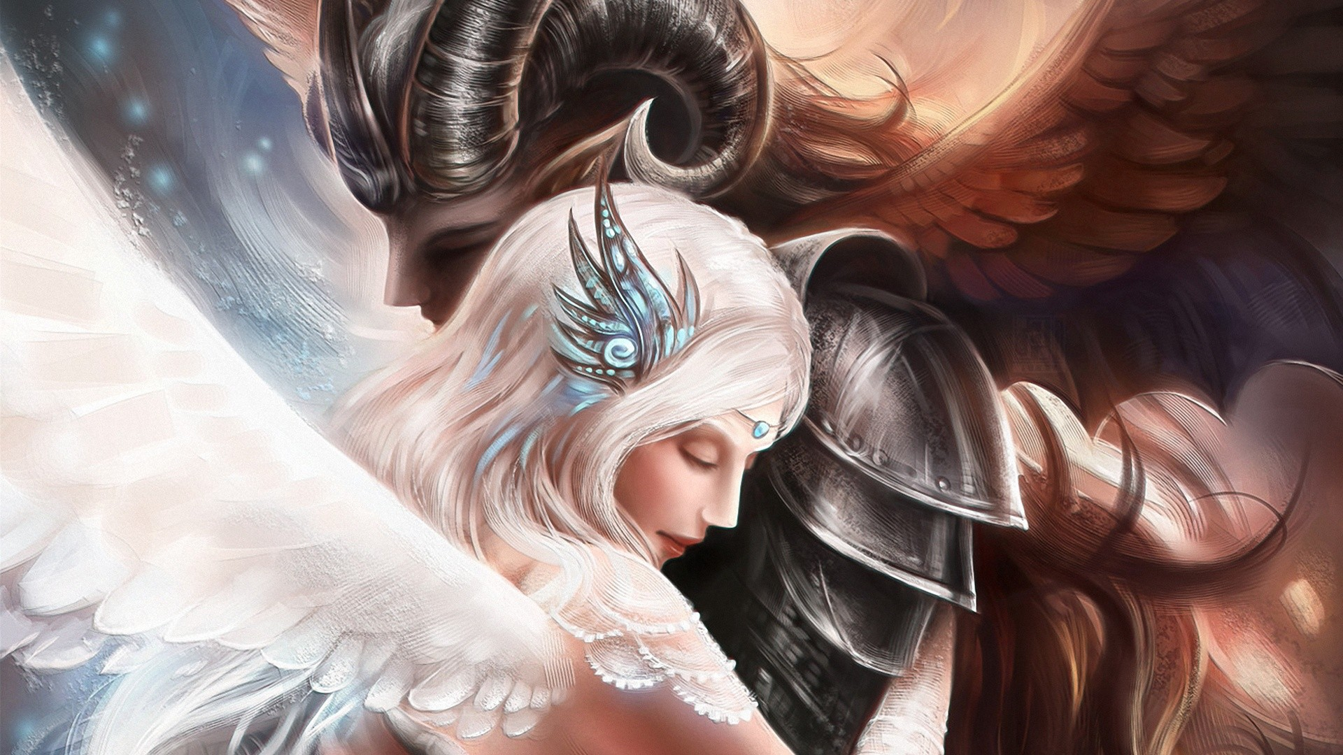 Angel And Demon Love Quotes: Angels And Demons Wallpapers