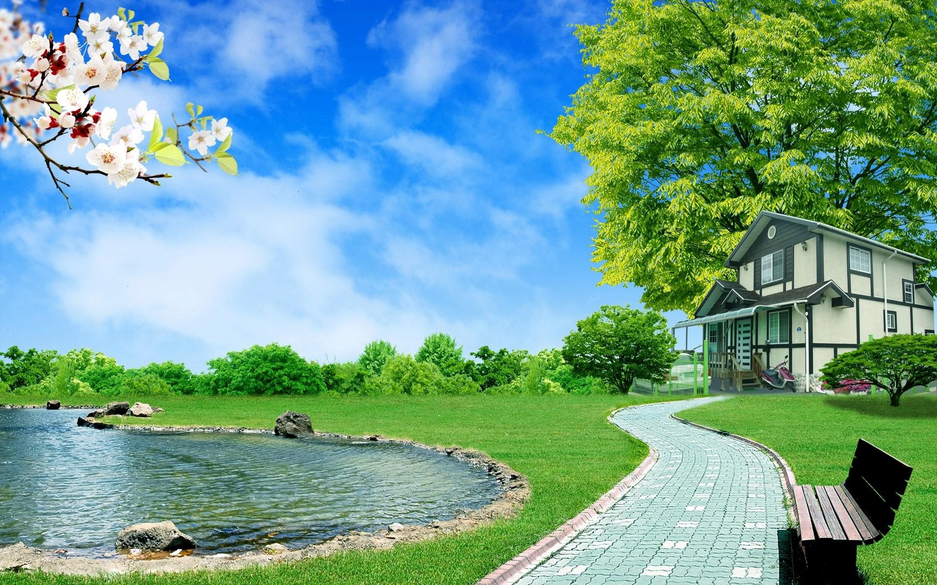 3d Nature Wallpapers Hd For Desktop Wallpaper Images