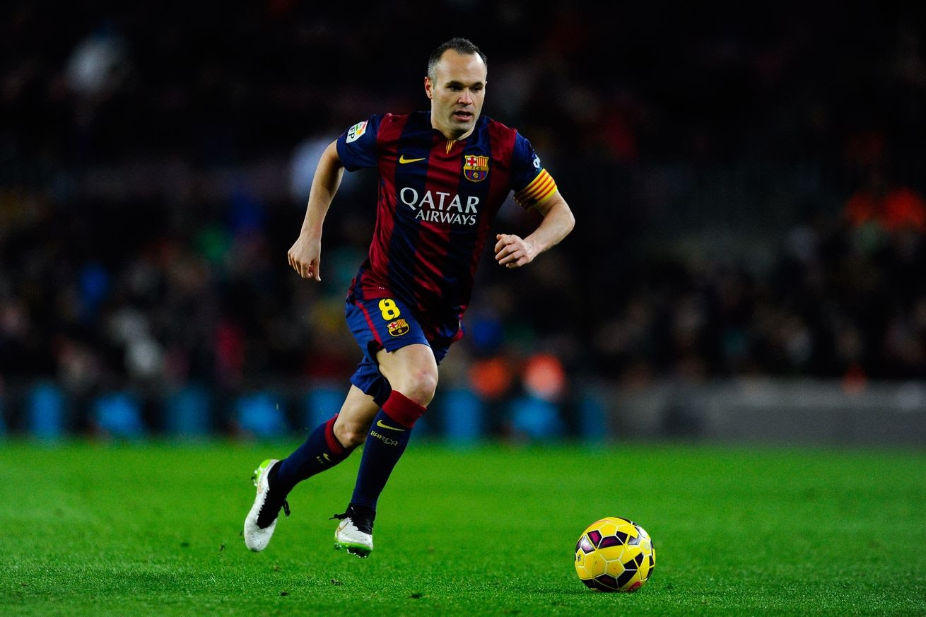 Andres Iniesta  20142015  Spieler  Fussballdaten