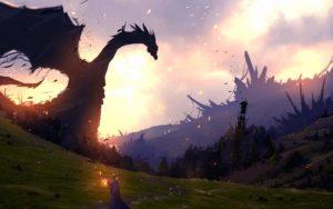 fantasy wallpapers-dragon