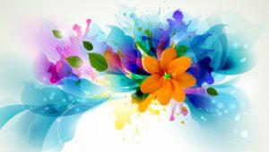 flower_vector_petals_background wallpaper design