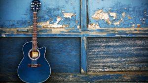 mobile wallpaper-guitar