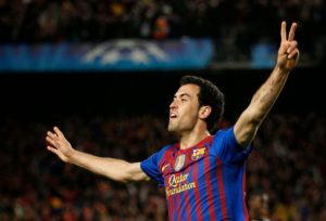 Sergio Busquets wallpapers-victory