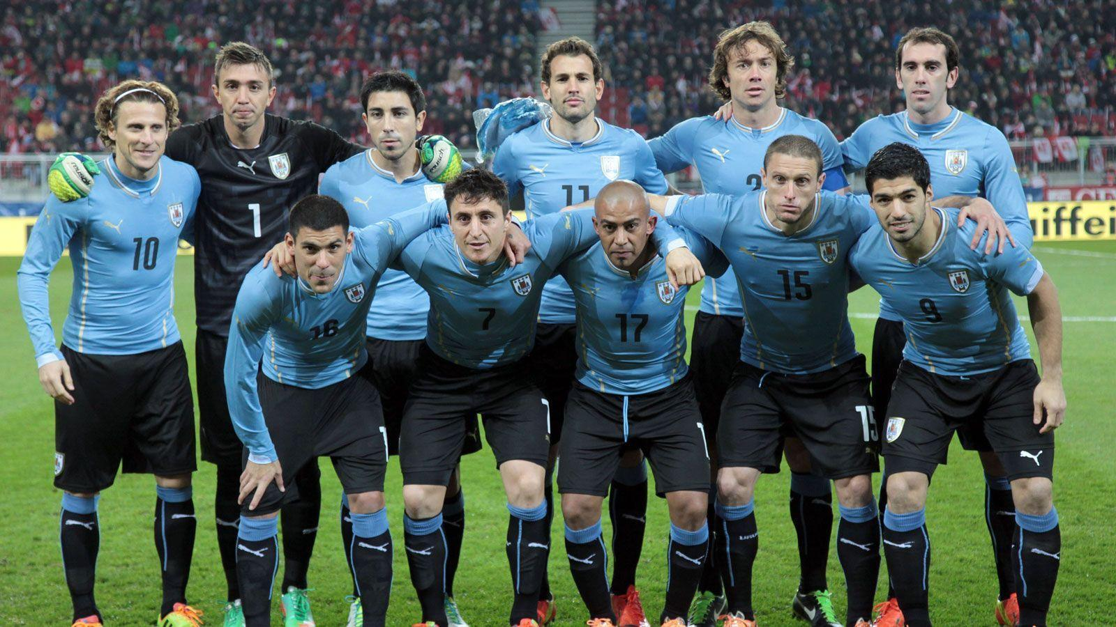 Výsledek obrázku pro uruguay national team