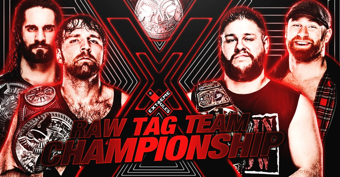 WWE Extreme Rules 2018 Wallpaper