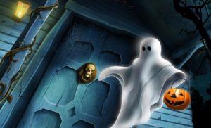 Haunted Halloween Wallpaper-7