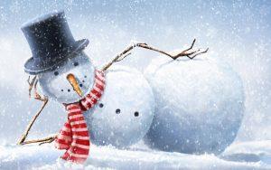snowman wallpaper-7